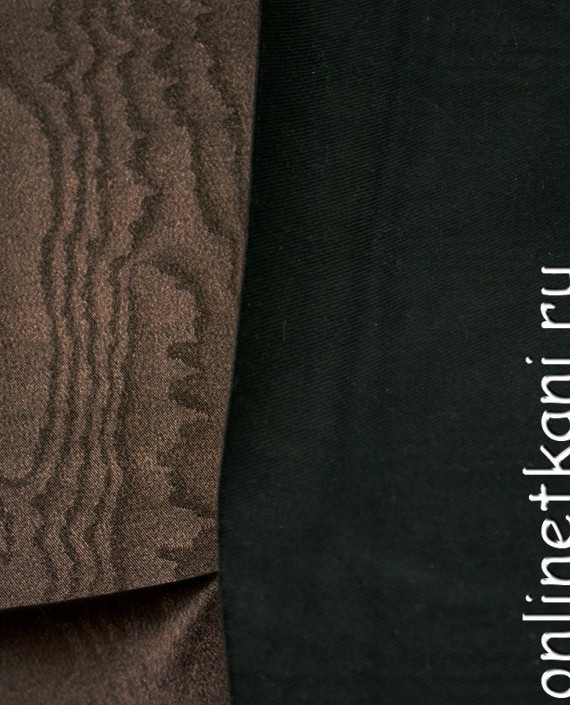 Искусственная кожа 043 цвет коричневый абстрактный картинка 2