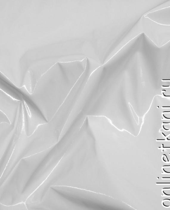 Ткань Лаке 047 цвет белый картинка 2