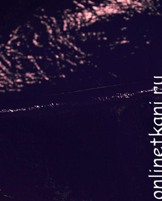 Искусственная кожа 053 цвет фиолетовый картинка 1