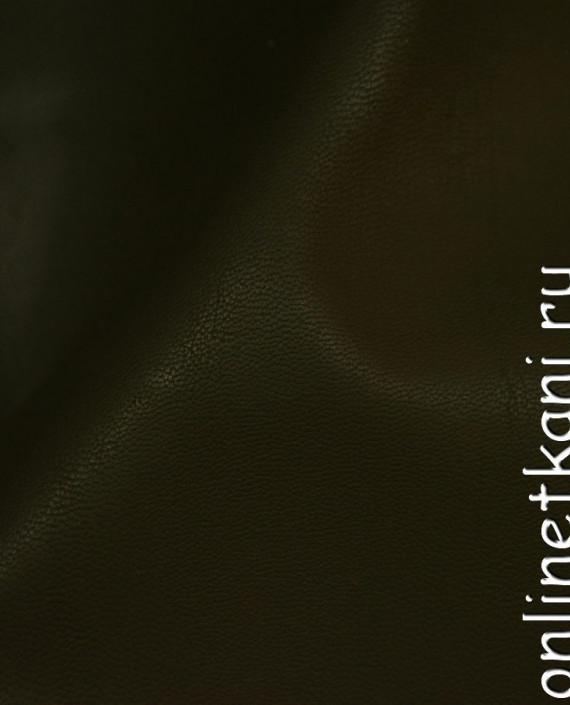 Искусственная кожа 072 цвет зеленый картинка