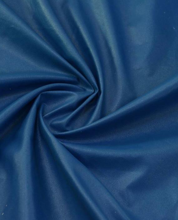 Искусственная Кожа 433 цвет синий картинка