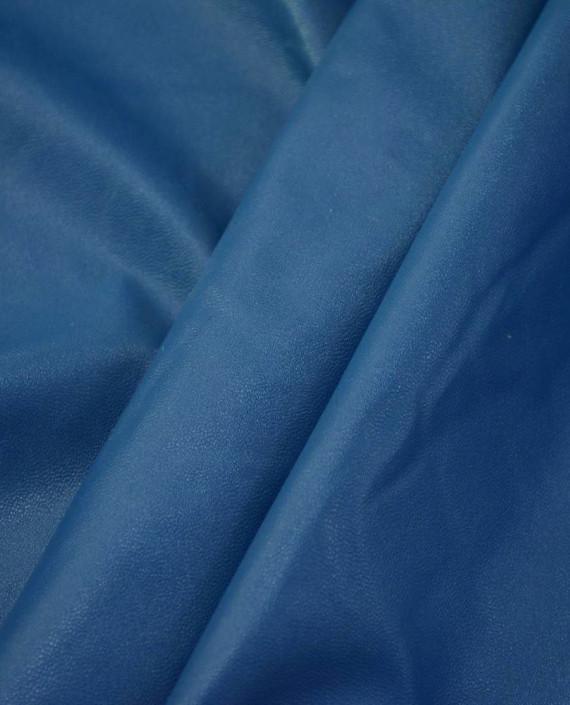 Искусственная Кожа 433 цвет синий картинка 2