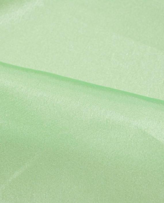 """Ткань Креп-сатин """"Светло-зеленый"""" 0011 цвет зеленый картинка 1"""