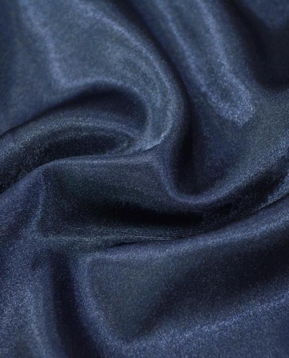 """Ткань Креп-сатин """"Джинсовый"""" 0010 цвет синий картинка"""