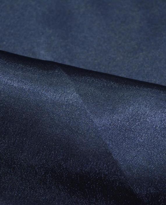"""Ткань Креп-сатин """"Джинсовый"""" 0010 цвет синий картинка 1"""