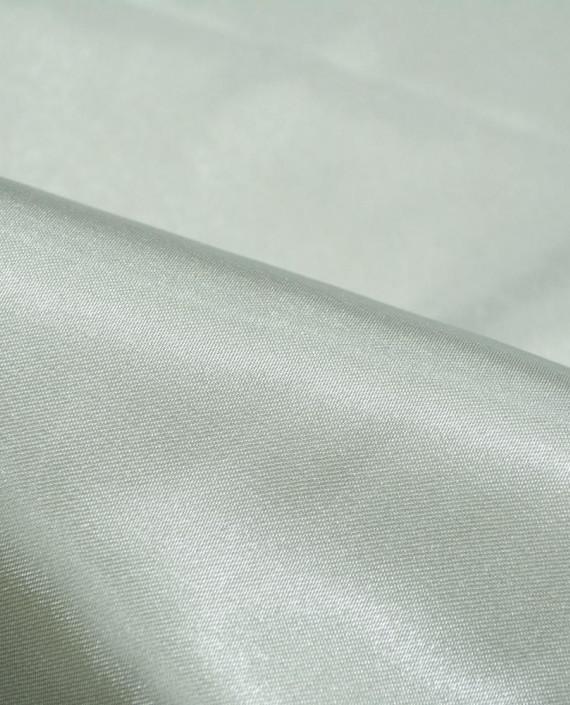 "Ткань Креп-сатин ""Серебро"" 0002 цвет серый картинка 1"