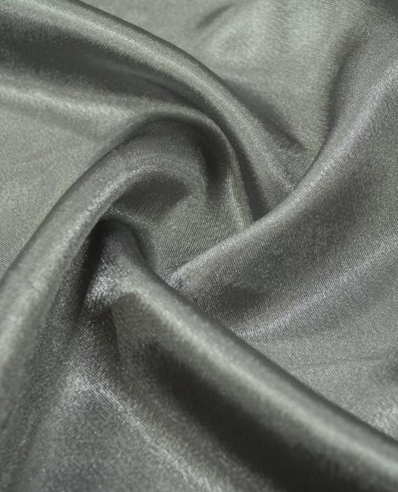 """Ткань Креп-сатин """"Темное серебро"""" 0012 цвет серый картинка"""