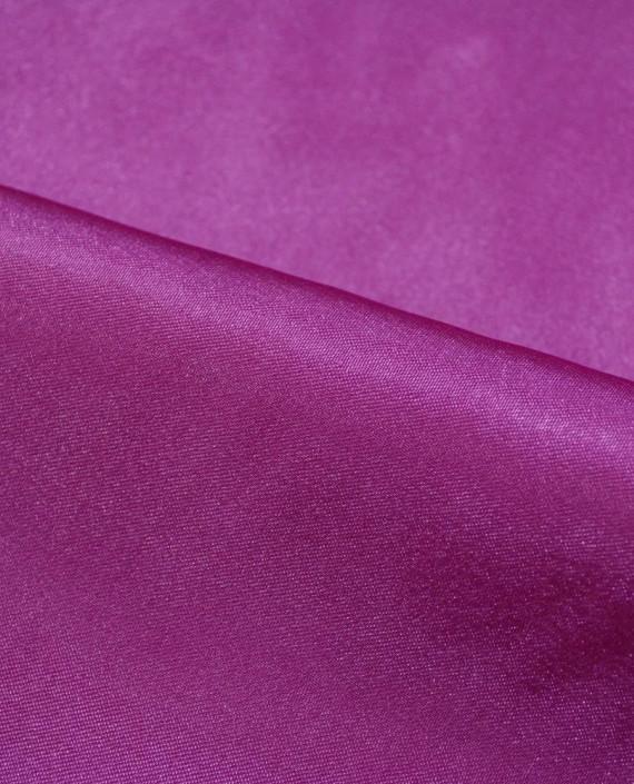 "Ткань Креп-сатин ""Пурпурный"" 0030 цвет фиолетовый картинка 1"