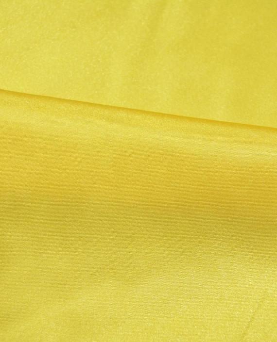 """Ткань Креп-сатин """"Желтое золото"""" 0019 цвет желтый картинка 1"""