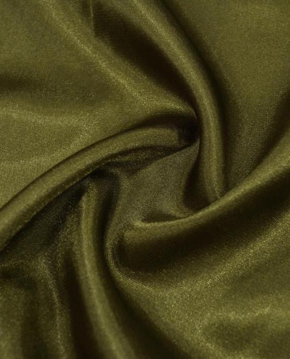 """Ткань Креп-сатин """"Хаки"""" 0042 цвет хаки картинка"""