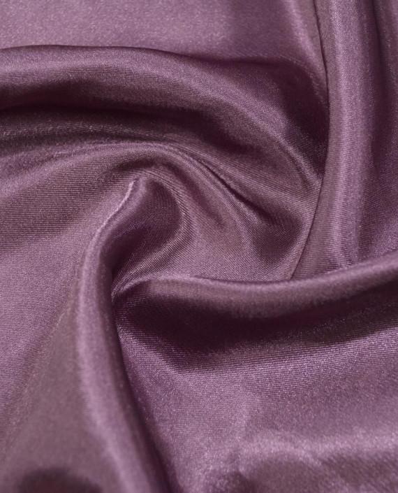 """Ткань Креп-сатин """"Баклажан"""" 0013 цвет фиолетовый картинка"""