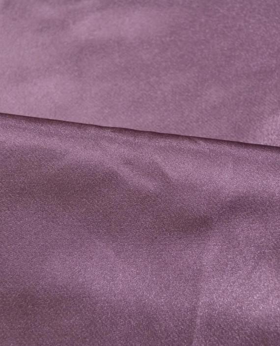 """Ткань Креп-сатин """"Баклажан"""" 0013 цвет фиолетовый картинка 1"""