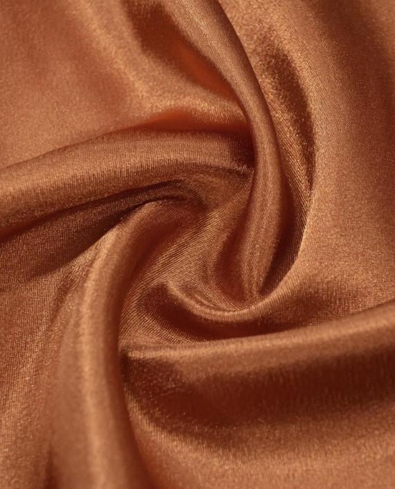 """Ткань Креп-сатин """"Сепия"""" 0017 цвет коричневый картинка"""
