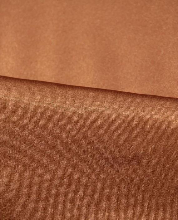 """Ткань Креп-сатин """"Сепия"""" 0017 цвет коричневый картинка 1"""