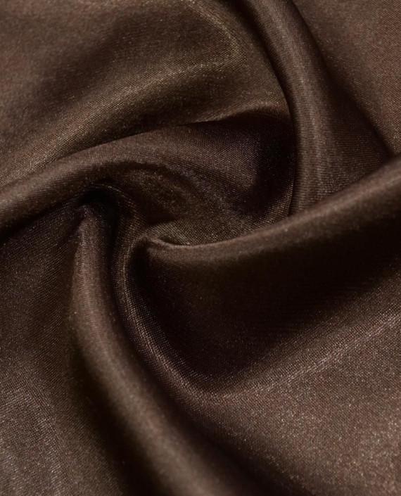 Ткань Креп-сатин 0023 цвет коричневый картинка