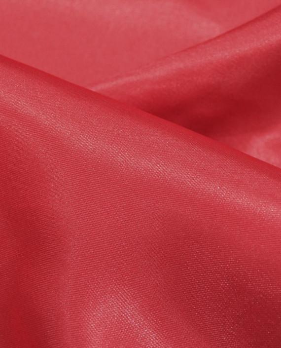 """Ткань Креп-сатин """"Кармэн"""" 0001 цвет красный картинка 1"""