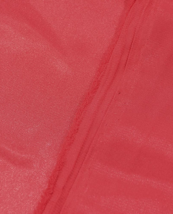 """Ткань Креп-сатин """"Кармэн"""" 0001 цвет красный картинка 2"""