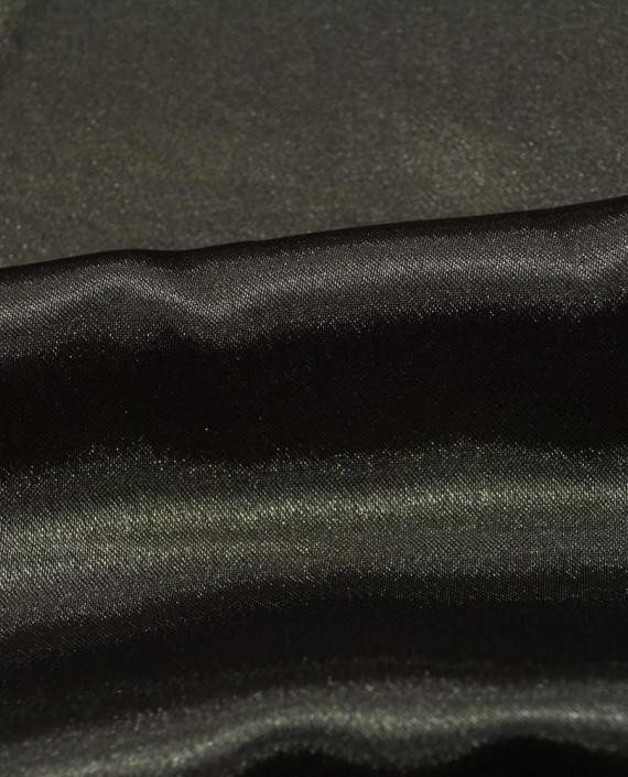 "Ткань Креп-сатин ""Мокрый асфальт"" 0036 цвет коричневый картинка 1"