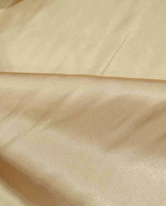 """Ткань Креп-сатин """"Светло-бежевый"""" 0038 цвет бежевый картинка 1"""