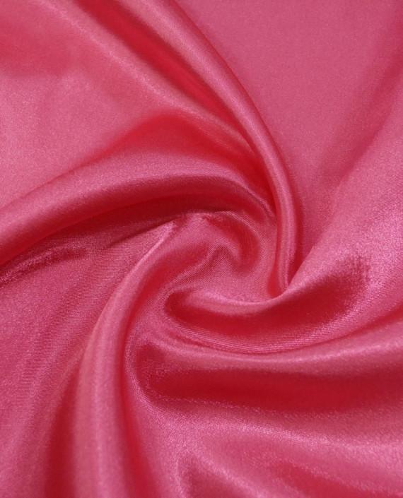 """Ткань Креп-сатин """"Малиновый"""" 0035 цвет розовый картинка"""