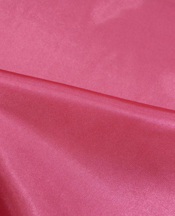 """Ткань Креп-сатин """"Малиновый"""" 0035 цвет розовый картинка 1"""