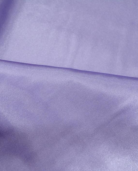 """Ткань Креп-сатин """"Лаванда"""" 0007 цвет сиреневый картинка 1"""