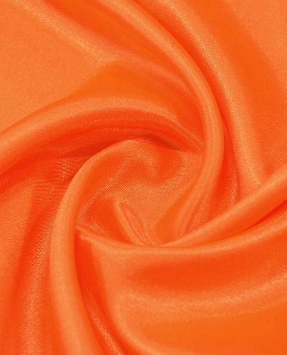 "Ткань Креп-сатин ""Оранжевый"" 0027 цвет оранжевый картинка"