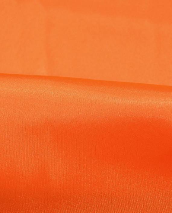 "Ткань Креп-сатин ""Оранжевый"" 0027 цвет оранжевый картинка 1"