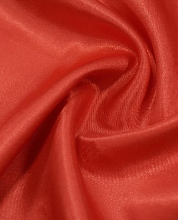 """Ткань Креп-сатин """"Алый"""" 0039 цвет красный картинка"""