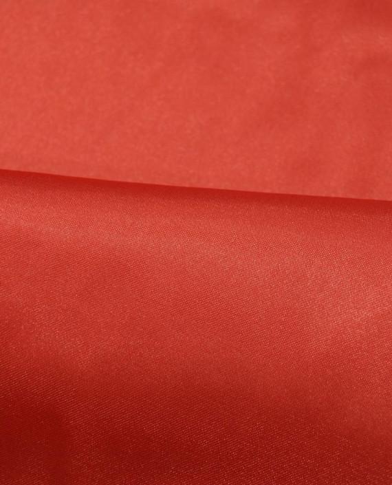 """Ткань Креп-сатин """"Алый"""" 0039 цвет красный картинка 1"""