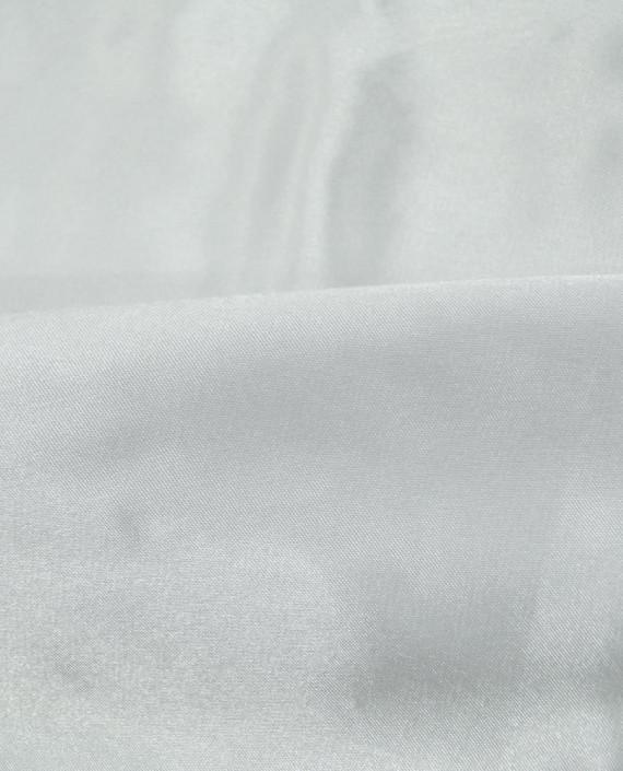 """Ткань Креп-сатин """"Белый"""" 0004 цвет белый картинка 1"""