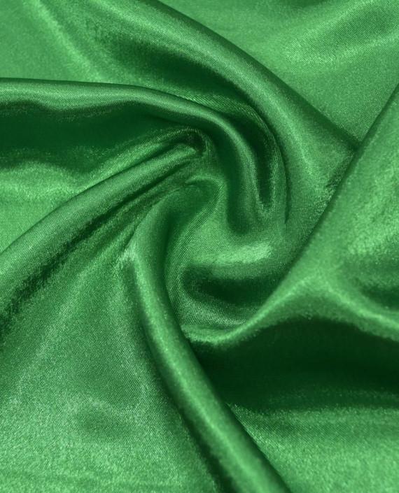"Ткань Креп-сатин ""Зеленый"" 0041 цвет зеленый картинка"