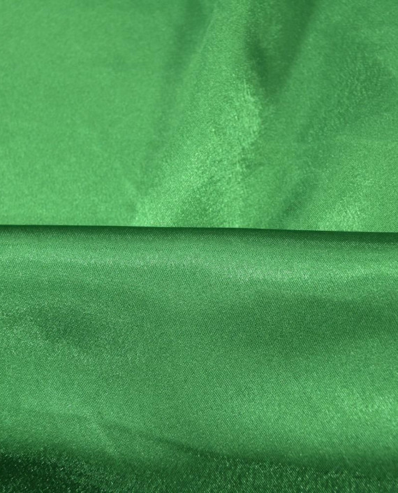 "Ткань Креп-сатин ""Зеленый"" 0041 цвет зеленый картинка 1"