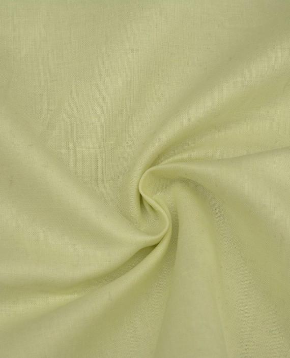 Ткань Лен Рубашечный 0421 цвет зеленый картинка
