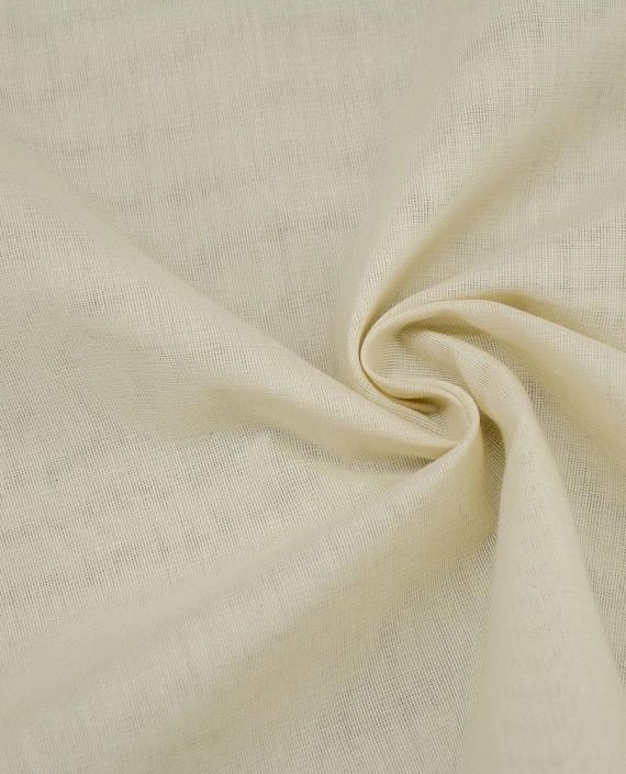 Ткань Лен Рубашечный 0431 цвет белый картинка