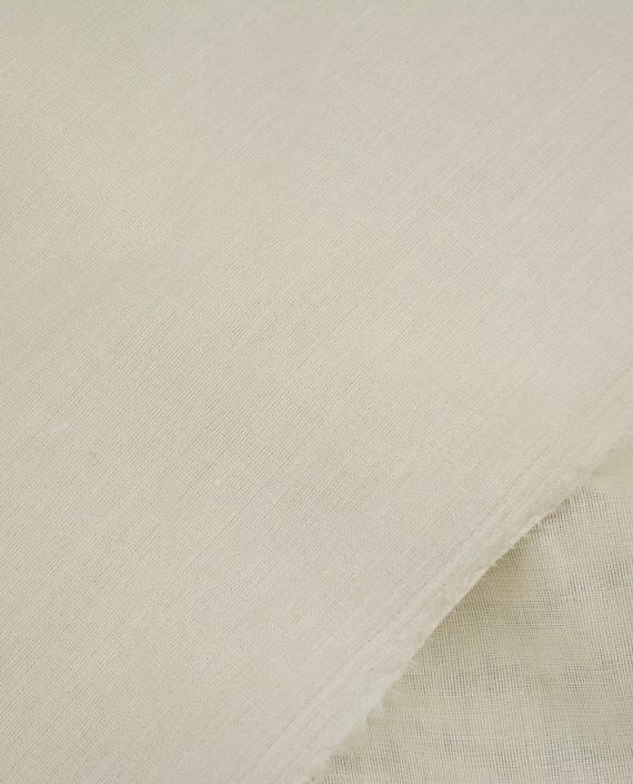 Ткань Лен Рубашечный 0431 цвет белый картинка 1