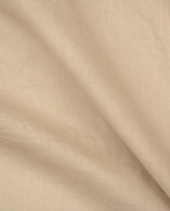 Ткань Лен Рубашечный 0461 цвет айвори картинка 2
