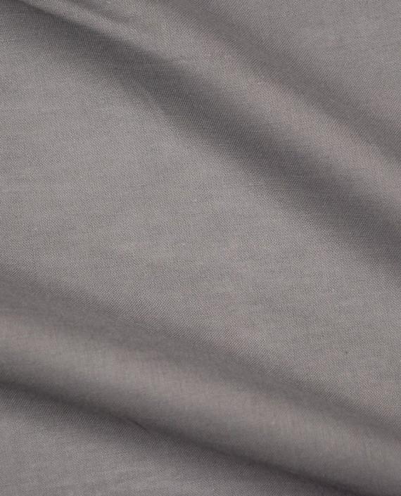 Ткань Лен Рубашечный 0467 цвет серый картинка 2