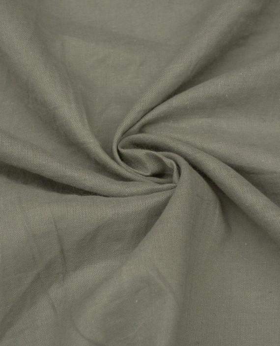 Ткань Лен Рубашечный 0493 цвет бежевый картинка