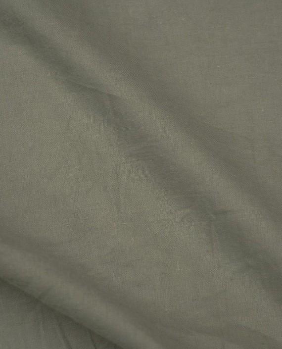Ткань Лен Рубашечный 0493 цвет бежевый картинка 2