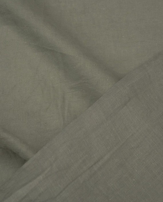 Ткань Лен Рубашечный 0493 цвет бежевый картинка 1