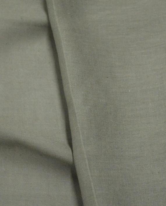 Ткань Лен Рубашечный 0612 цвет бежевый картинка 2