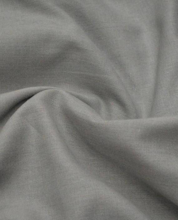 Ткань Лен Рубашечный 0613 цвет серый картинка 1