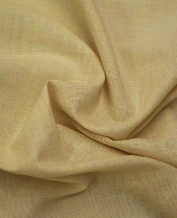 Ткань Лен Рубашечный 0618 цвет бежевый картинка