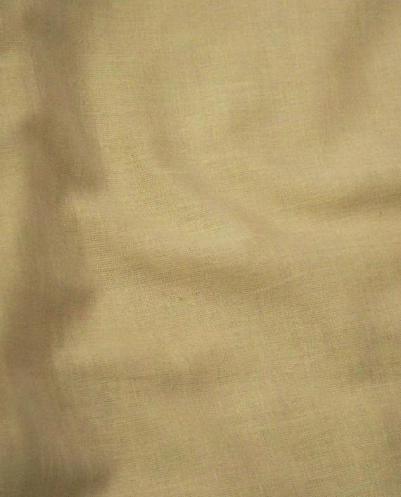 Ткань Лен Рубашечный 0618 цвет бежевый картинка 1