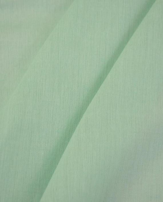 Ткань Лен Рубашечный 0736 цвет голубой картинка 2