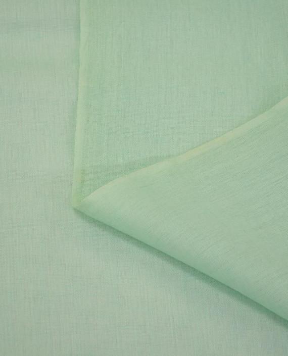 Ткань Лен Рубашечный 0736 цвет голубой картинка 1