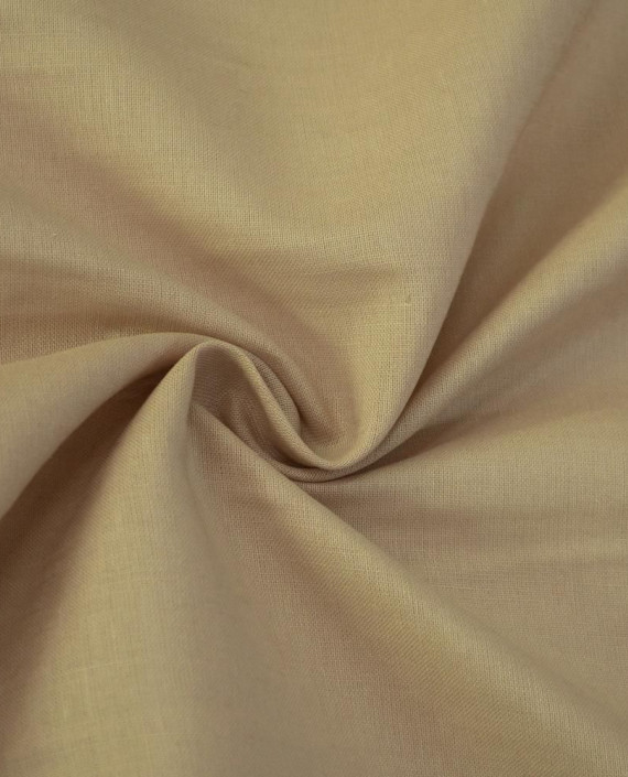 Ткань Лен Рубашечный 0755 цвет бежевый картинка