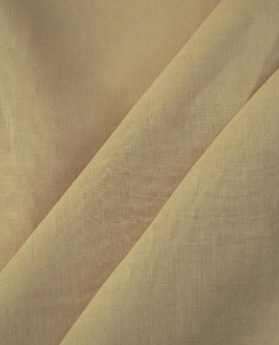Ткань Лен Рубашечный 0755 цвет бежевый картинка 2