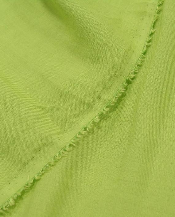 Лен Рубашечный 0823 цвет зеленый картинка 2